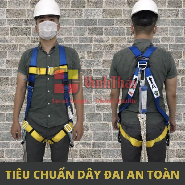 Tiêu chuẩn dây đai an toàn trên cao - thước đo sự an toàn