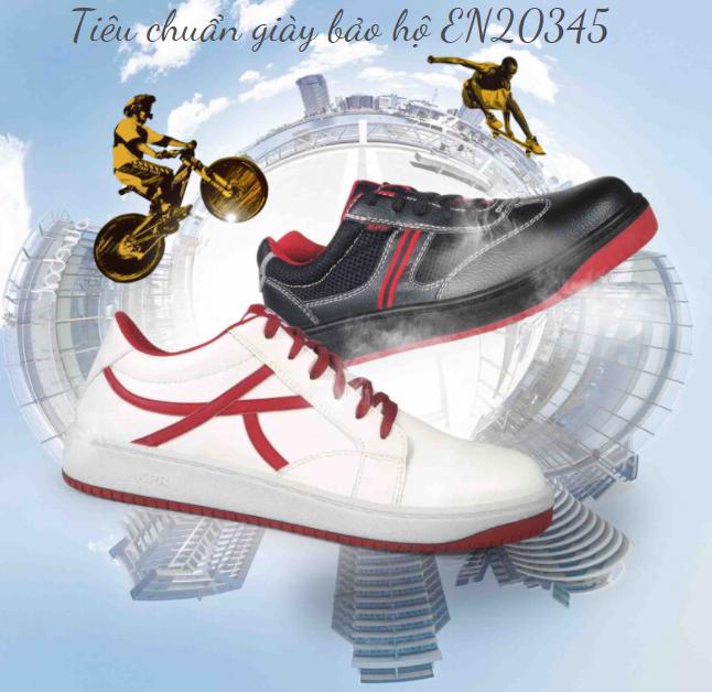 Tiêu chuẩn giày bảo hộ EN20345 là gì?