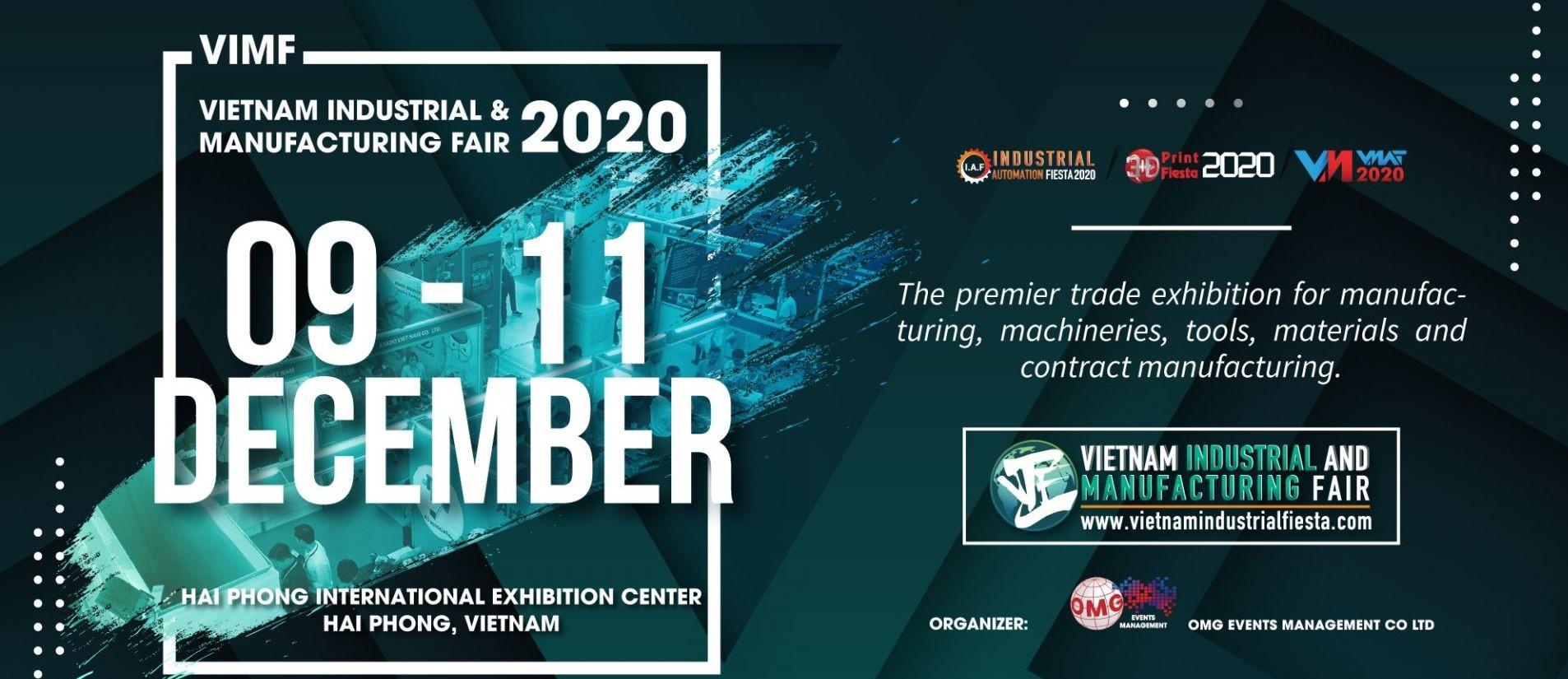 TRIỂN LÃM CÔNG NGHIỆP VÀ SẢN XUẤT VIMF 2020 TẠI HẢI PHÒNG