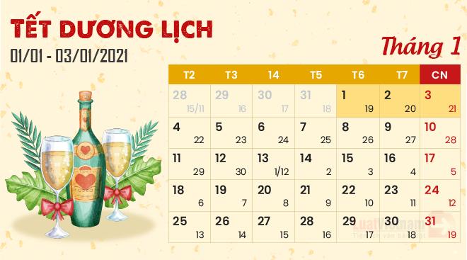Công ty TNHH Vinh Thái thông báo lịch nghỉ Tết Dương lịch