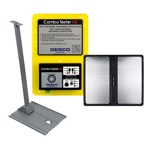Bộ Combo Tester X3, with Stand – Desco 19271