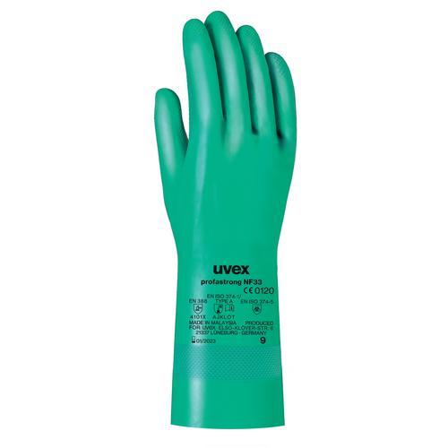 Găng tay chống hóa chất Uvex profastrong NF33